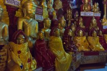 63. .Shwe OO Min - a few of the buddhas